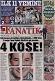 Fanatik gazetesinin birinci sayfası